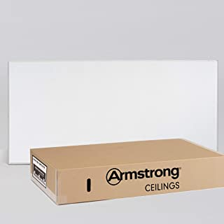 Armstrong Ceiling Tiles; 2x4 Ceiling Tiles – HUMIGUARD Plus Acoustic Ceilings for Suspended Ceiling Grid; Drop Ceiling Tiles Direct from the Manufacturer; ULTIMA Item 1914 – 6 pcs White Tegular