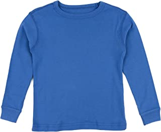 Long Sleeve Boys Girls Kids & Toddler T-Shirt 100% Cotton (2-14 Years) Variety of Colors