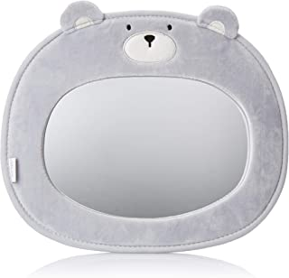 Little Me Baby Backseat Mirror for Car View Infant in Rear Facing Car Seat, Bear