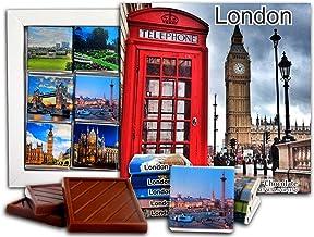 LONDON Capital of England, Chocolate Gift Set, 5x5in, 1 box (Big Ben Prime 0132)