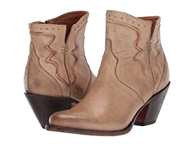 Lucchese Karla (Distressed Bone) Cowboy Boots