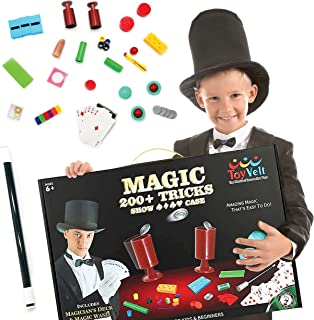 ToyVelt Magic Tricks Magic Set - Kids Magic Kit for Beginners with Over 200 Tricks and Instructions - Hours of Fun and Lea...