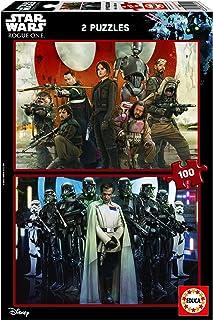 Educa Borras - 17012.0 - Star Wars - Rogue One - 2 x 100 pièces
