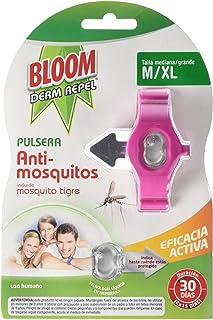 Bloom Derm Pulsera Anti-Mosquitos, M/XL