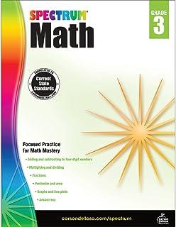 Spectrum   Math Workbook   Grade 3, Printable