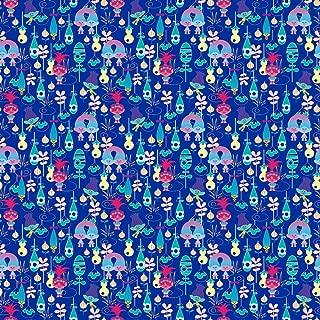 Dreamworks Trolls Packed Trolls Fabric by the Yard