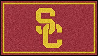 FANMATS NCAA USC Trojans 3 Ft. x 5 Ft. Area RUG3 Ft. x 5 Ft. Area Rug, Red, 3' x 5', 19785