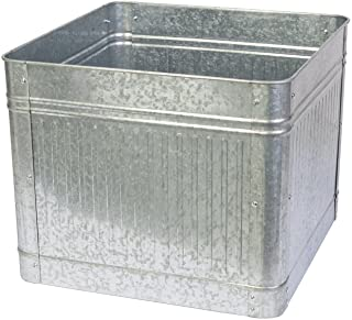 Panacea 83476 Vintage Square Raised Garden Bed Planter