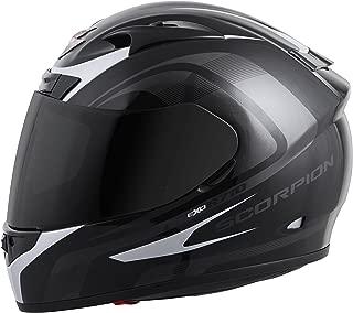 Scorpion EXO-R710 Focus Street Motorcycle Helmet (Silver, Small)