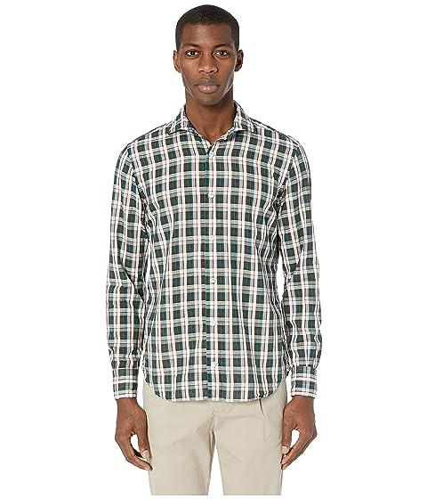 eleventy Multicolor Plaid Shirt