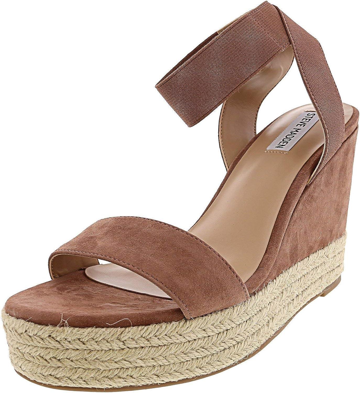 Steve Madden Women's Certified Ankle-High Wedged Sandal