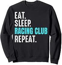 Racing Club Gift Eat Sleep Repeat Soccer Argentina Sweatshirt