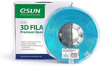 eSUN 1.75mm Light Blue ABS 3D Printer filament 1kg Spool (2.2lbs), Light Blue