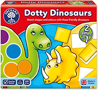Orchard Toys OC062 - Dotty Dinosaurs Game