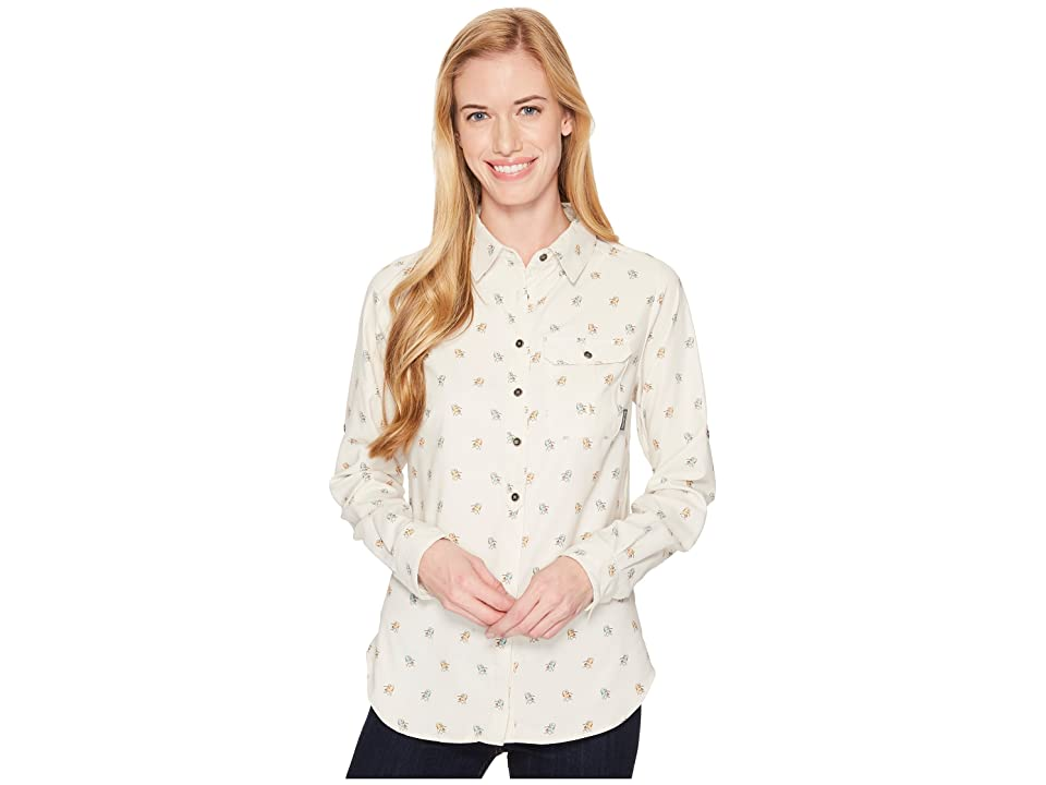 Columbia Bryce Canyon Stretch Long Sleeve Shirt (Iceberg/Campin Chairs Print) Women
