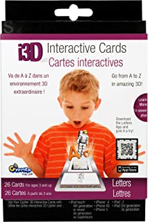 Cypher Kids i3D Interactive Cards- Letters