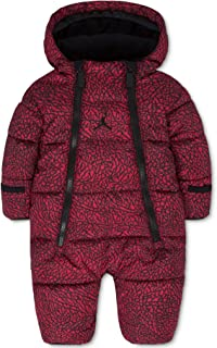 Baby Boys' or Baby Girls' Hooded Abstract-Print Snowsuit Bunting