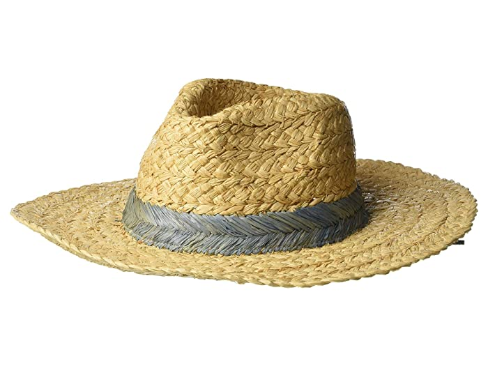 Hippie Hats,  70s Hats Hat Attack Seashore Rancher Blue Caps $104.00 AT vintagedancer.com