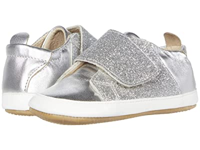 Old Soles Little Peezy (Infant/Toddler) (Silver/Glam Argent/Snow) Girl
