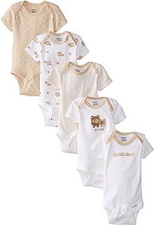 Gerber - Conjunto de 5 Monos Variados para bebé niña