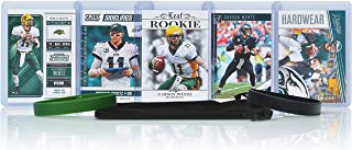 Carson Wentz Football Cards Assorted (5) Bundle - Philadelphia Eagles Trading Cards