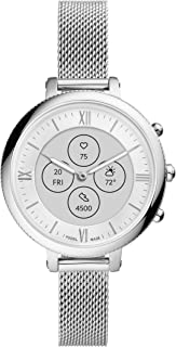 Fossil Women's Monroe Hybrid Smartwatch HR with Always-On Readout Display, Heart Rate, Activity Tracking, Smartphone Notifications, Message Previews