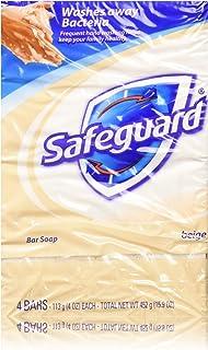 SAFEGUARD *除臭肥皂米色4盎司4块 2片装