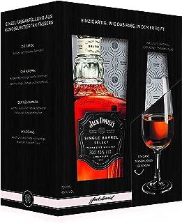 "Jack Daniel""s Single Barrel Geschenkset mit original Jeff Arnett Nosing-Glas - limitiert Whisky 1 x 0.7 l"