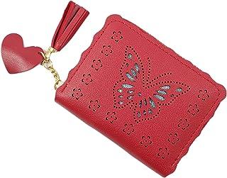 Surbhi Dark Pink Leather Women's Wallet (84)