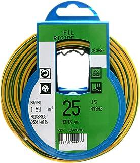 color gris de G 100/Stk. Uni/ón roscada de cable de tama/ño M25/x 1,5, con contratuerca, pl/ástico