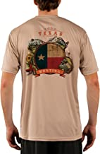 Dove Hunting Texas Men's UPF 50+ Short Sleeve T-Shirt