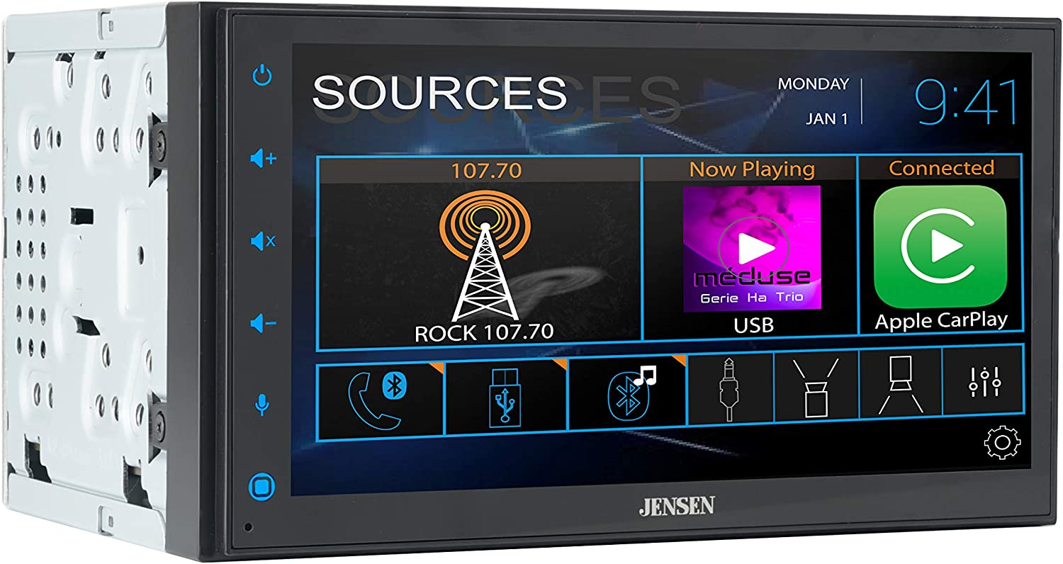 Jensen CAR68 6.8 inch LED Digital Double Multimedia Screen New Shipping Free Shipping Dealing full price reduction Touch