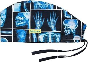 DOKTORAM Surgical Scrub Cap Medical hat Funny Prints Skull Cap