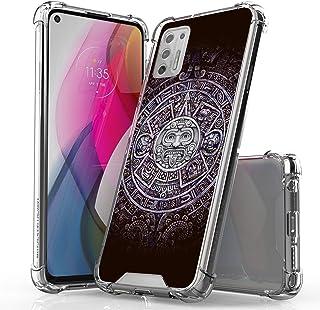 "BEYOND CELL AquaFlex Phone Case Compatible with Moto G Stylus 2021 (6.8""), Transparent Printing Case, Ultra Slim Design wi..."