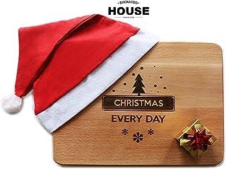 Tagliere in legno design - mod. 'Christmas'