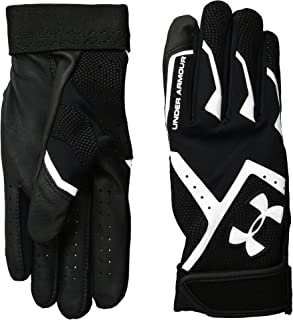 Under Armour Boys' Clean-Up VI Baseball Batting Gloves