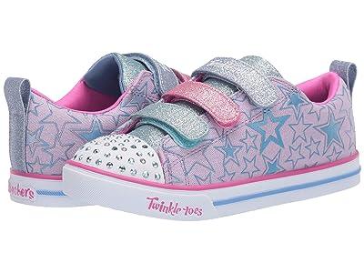 SKECHERS KIDS Twinkle Toes Sparkle Lite Stars The Limit 314036L (Little Kid/Big Kid) (Lavender/Multi) Girl
