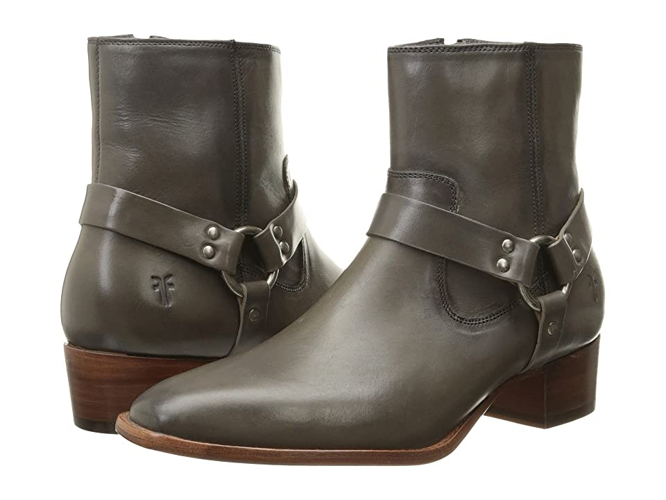 Frye Dara Harness Short (Charcoal Smooth Polished Veg) Women