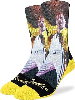 Good Luck Sock Men's Freddie Mercury Socks, Adult