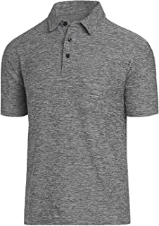 Men Polo Shirts, Dry Fit Short Sleeve Athletic Golf Polo Shirts for Men