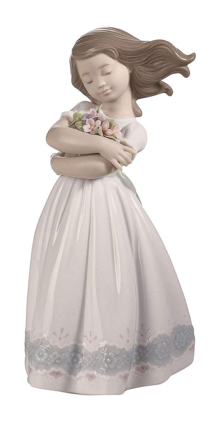 永久に笑分析的なリヤドロ LLADRó 人形 さわやかな風 01008248
