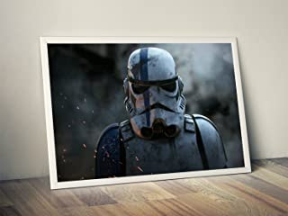 Storm Trooper Limited Poster Artwork - Professional Wall Art Merchandise (More (8x10)