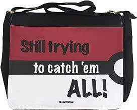 NaniWear Pocket Monster Catch 'em All Large Messenger/Laptop Bag