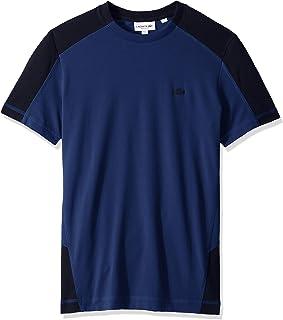 Lacoste Men's S/S Colorblock Pique Pima Leger Relax Fit T-Shirt