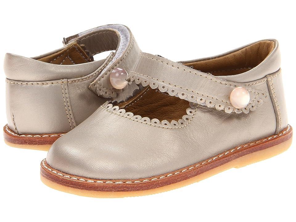 Elephantito Mary Jane (Toddler) (Champagne) Girls Shoes