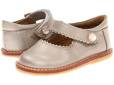 Elephantito Mary Jane (Toddler) (Champagne) Girls Shoes