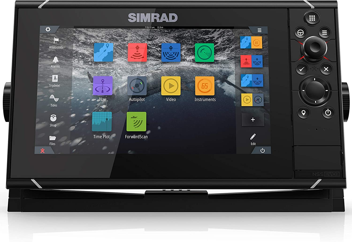 Simrad NSS evo3: Japan's largest assortment 9-inch Navigation Cash special price Display SolarMAX Di GPS with