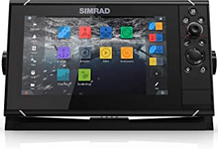 Simrad NSS evo3: 9-inch Navigation Display with GPS, SolarMAX Display and C-MAP Insight Pro Charts Installed