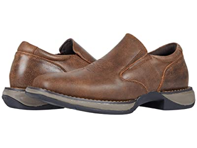 Roper Wilder Slip-On (Brown Leather) Men