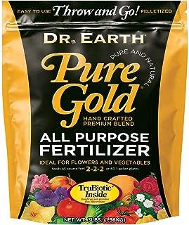 Dr. Earth Pure Gold All Purpose Fertilizer 3 lb